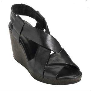 Cole Haan Nike Air Dinah Strappy Wedge Sandal   8B